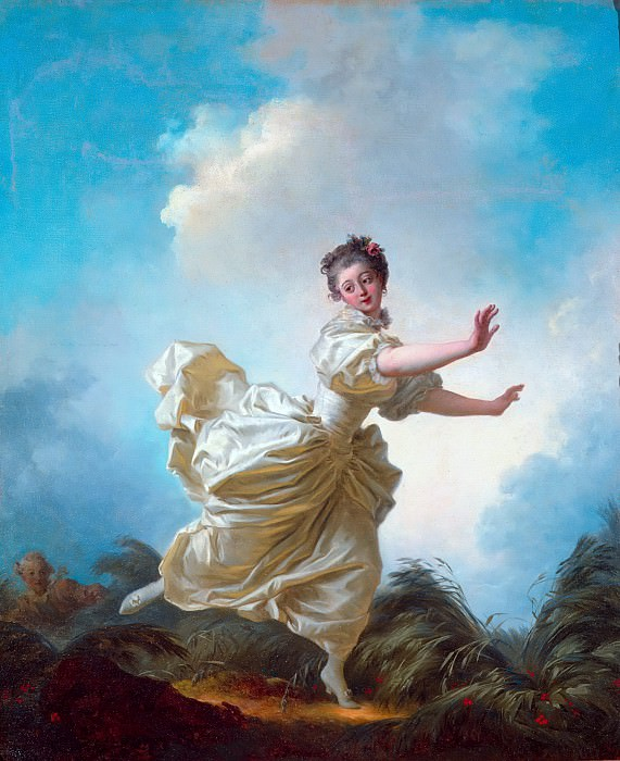 The Pre-arranged Flight. Jean Honore Fragonard