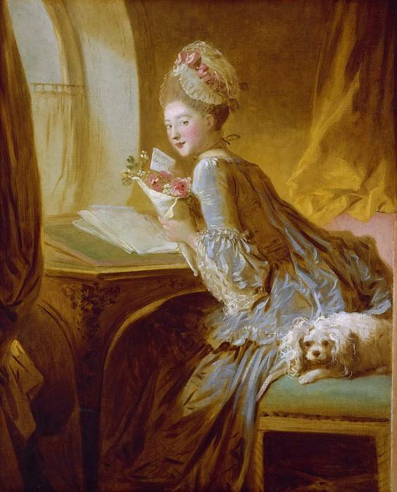 Fragonard, Jean Honore - The Love Letter. Metropolitan Museum: part 1