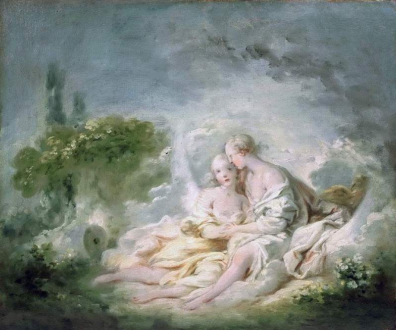 Jupiter And Callisto. Jean Honore Fragonard