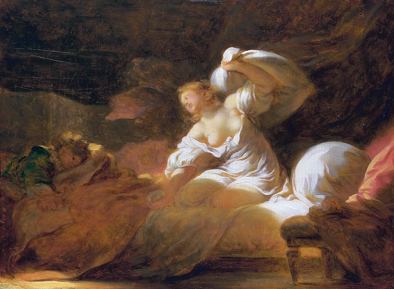 The Useless Resistance. Jean Honore Fragonard