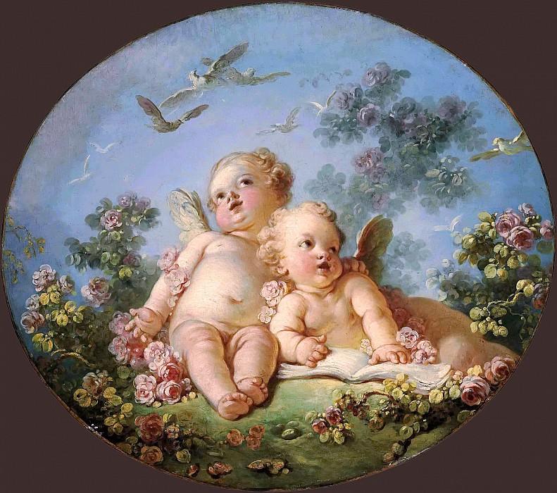 Primavera. Jean Honore Fragonard