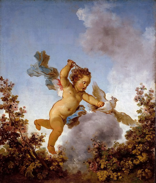 The Progress of Love: Love the Avenger. Jean Honore Fragonard