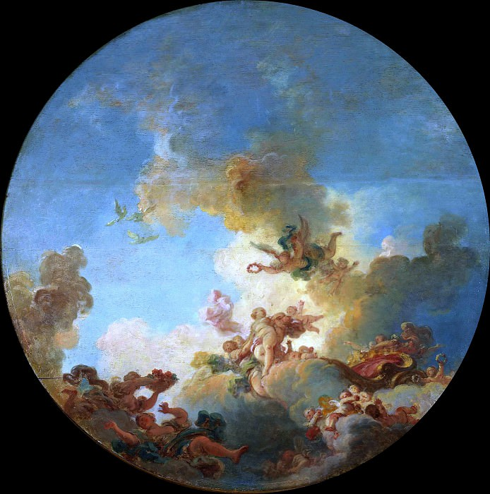 The Triumph of Venus. Jean Honore Fragonard