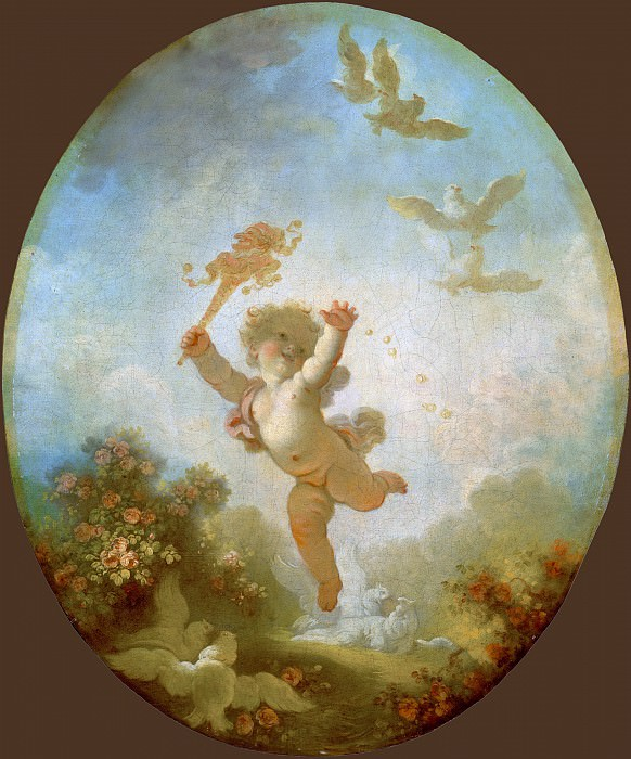 Fragonard, Jean Honore - Love as Folly. National Gallery of Art (Washington)