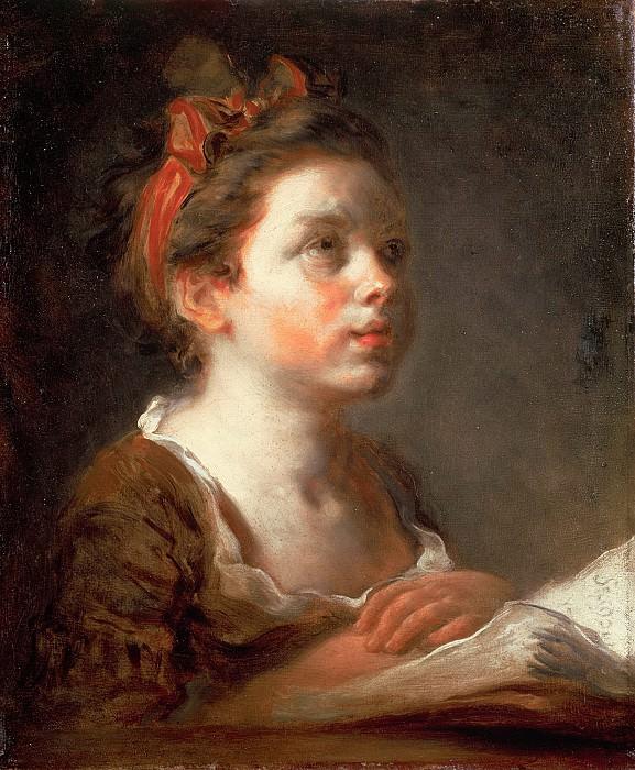 A Young Scholar. Jean Honore Fragonard