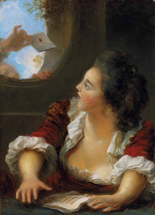 The Love Letter. Jean Honore Fragonard