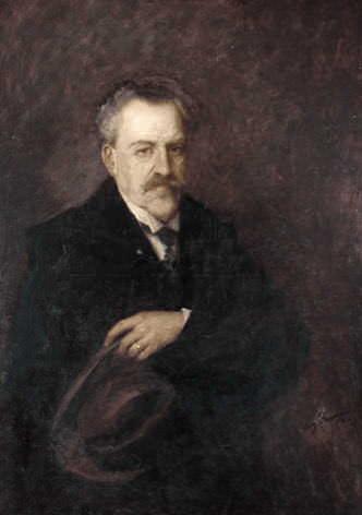Fredrik Ulrik Wrangel of Sauss (1853-1929). August Franzen