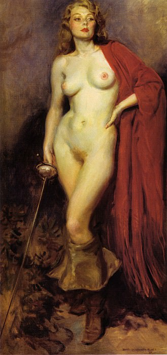 The Fencer. James Montgomery Flagg