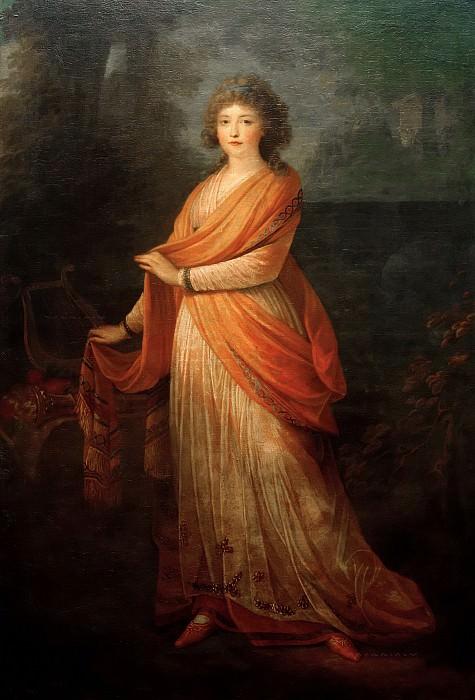 Princess Varvara Vasiljena Galitsina. Heinrich Friedrich Fuger