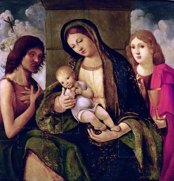 Мадонна с младенцем между святыми Иоанном Крестителем и Иоанном Евангелистом. Франча (Франческо Райболини)