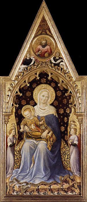 Мадонна с Младенцем (церковь Кваратези). Джентиле да Фабриано