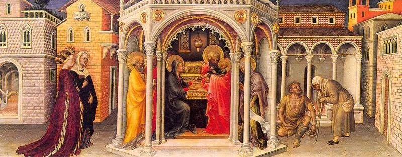 The Presentation in the Temple, from the. Gentile da Fabriano