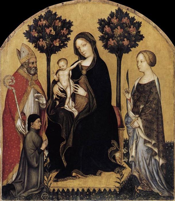 virgin c. Gentile da Fabriano