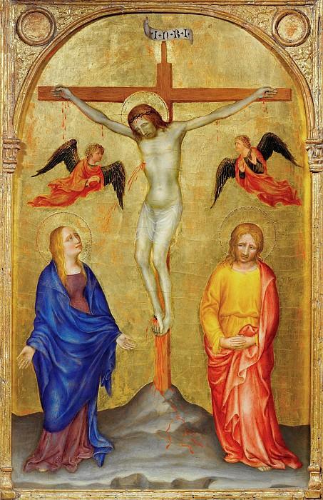 Crucifixion. Gentile da Fabriano