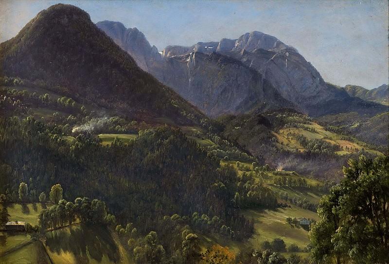 Landscape, Tyrol. Thomas Fearnley