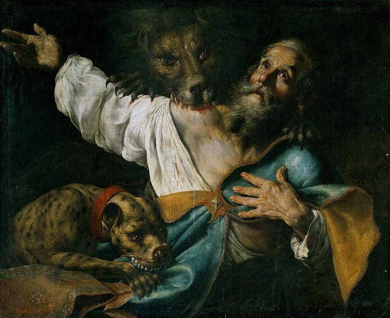 Martyrdom of Saint Ignatius of Antioch. Francesco Fracanzano