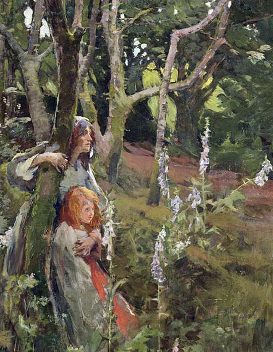 The Enchanted Wood. Elizabeth Adela Stanhope Forbes