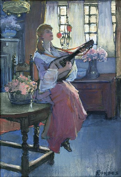 The Mellowinds of March. Elizabeth Adela Stanhope Forbes
