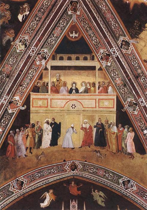 Descent of the Holy Spirit WGA. Andrea di Bonaiuto da Firenze