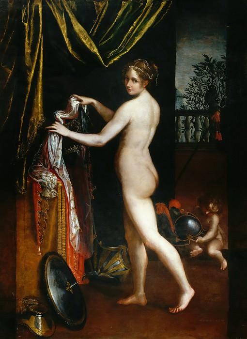 Minerva Dressing. Lavinia Fontana
