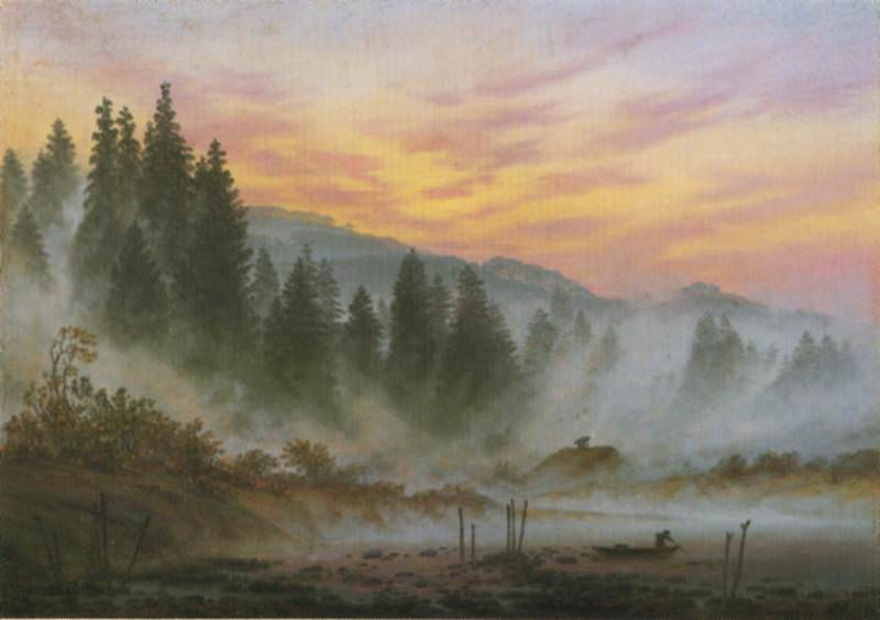 morning. Caspar David Friedrich