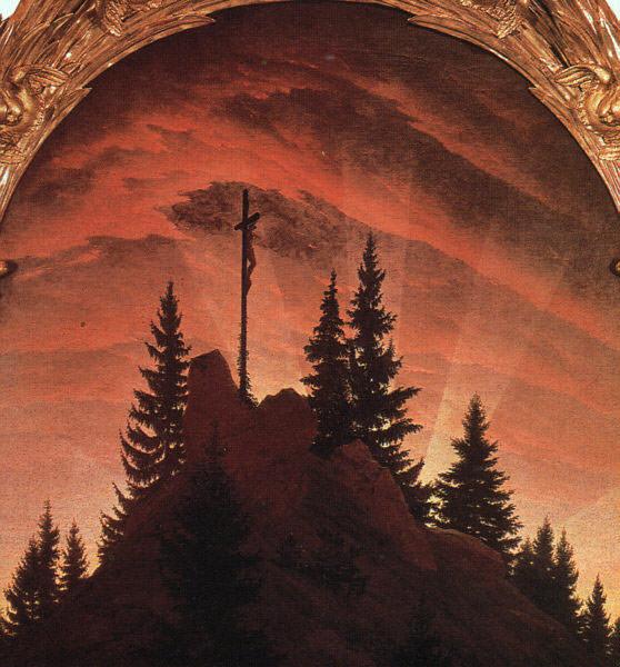The Cross in the Mountains. Caspar David Friedrich