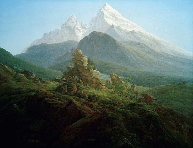 Гора Ватсманн. Каспар Давид Фридрих