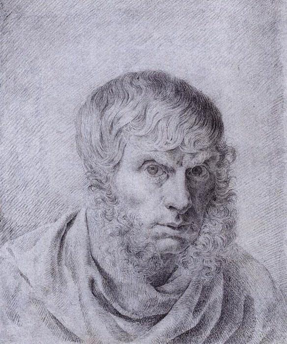 Self Portrait 1810. Caspar David Friedrich