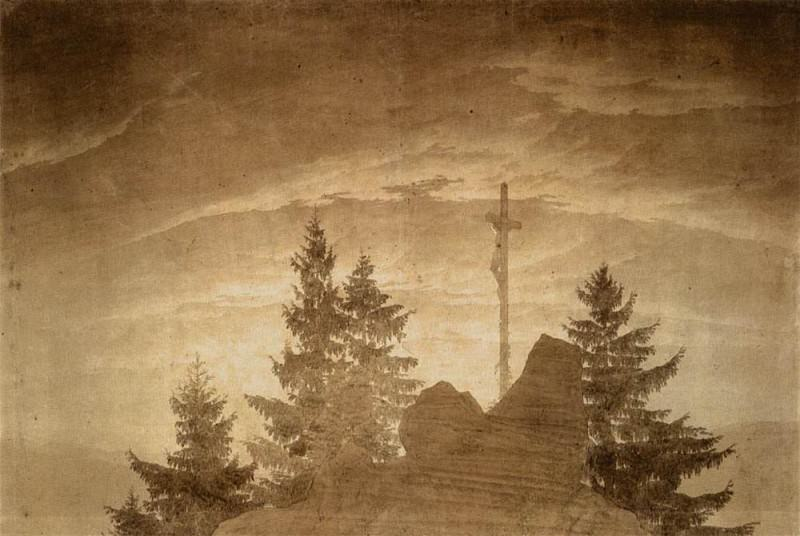 Cross In The Mountains. Caspar David Friedrich