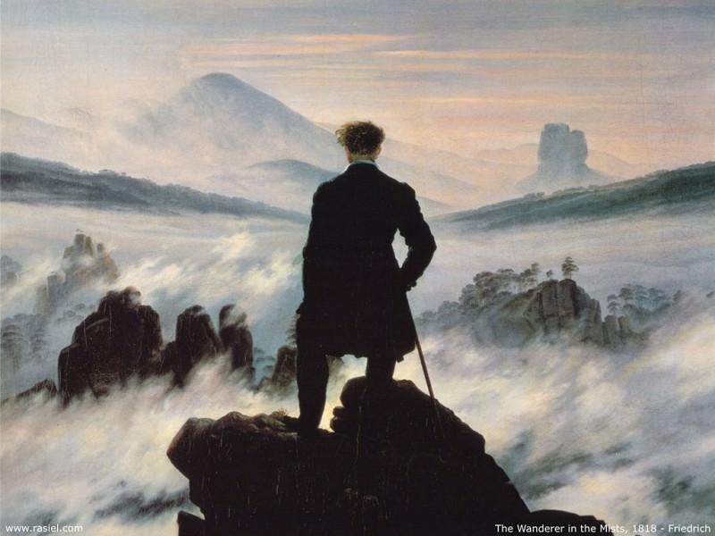 Странник над морем тумана. Каспар Давид Фридрих