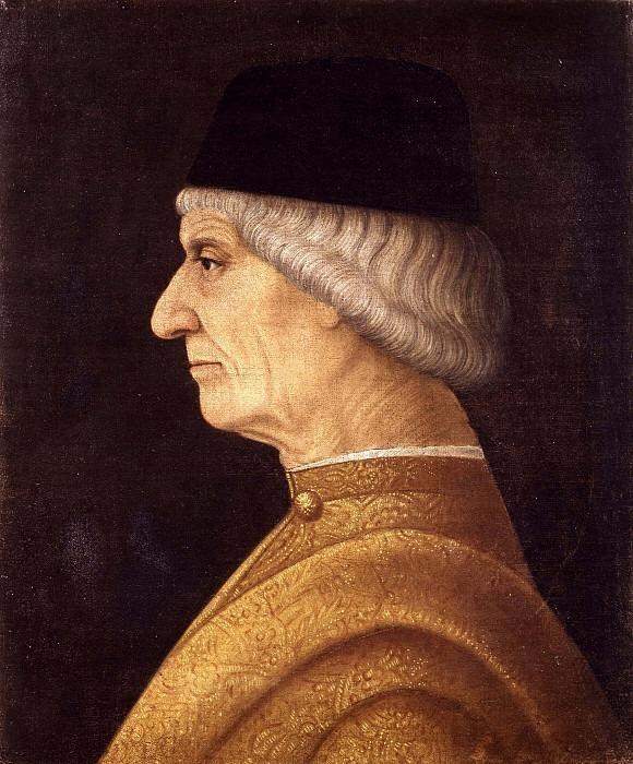 Портрет мужчины в профиль. Винченцо Фоппа (окружение)