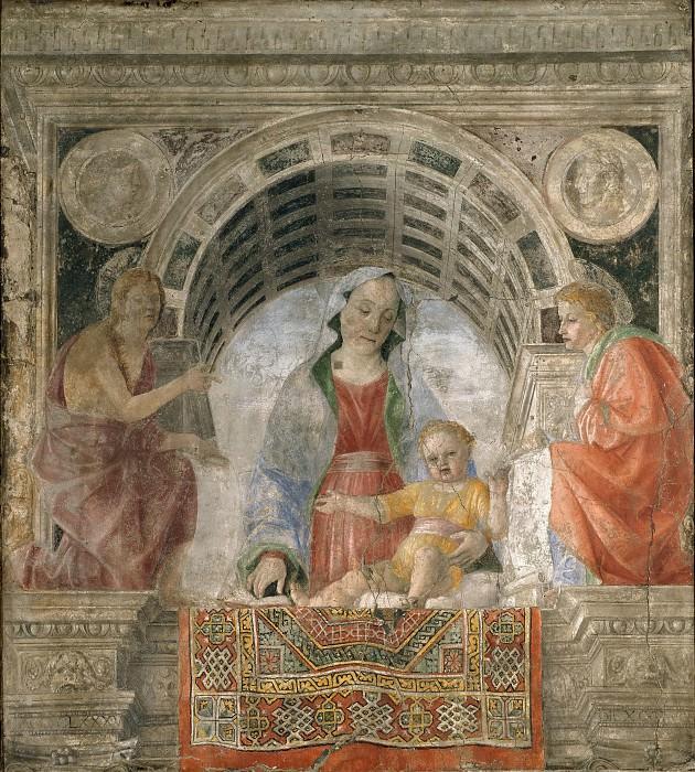 Мадонна с Младенцем со святыми Иоанном Крестителем и Иоанном Богословом. Винченцо Фоппа