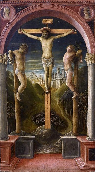 Три распятия. Винченцо Фоппа