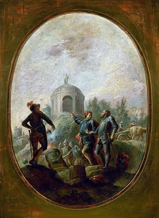 Бартоломео Коллеони и Габриэле Тадино. Федерико Феррарио