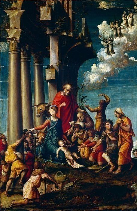 Поклонение пастухов. Дефенденте Феррари