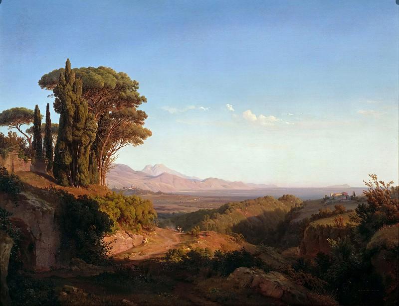 Alban Hills. Ludwig Heinrich Theodor Gurlitt