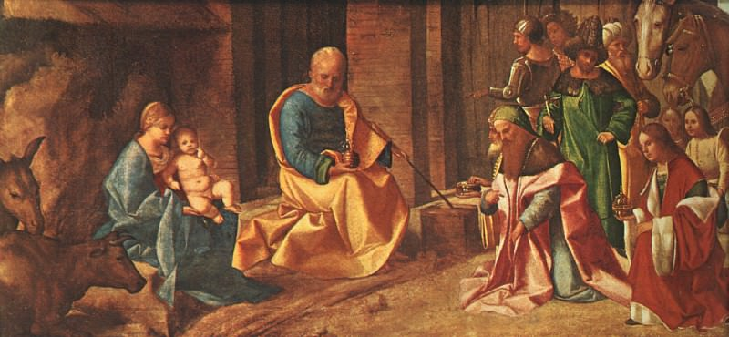 Adoration of the Magi. Giorgione (Giorgio Barbarelli)