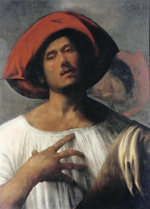 The Impassioned Singer (attr.). Giorgione (Giorgio Barbarelli)