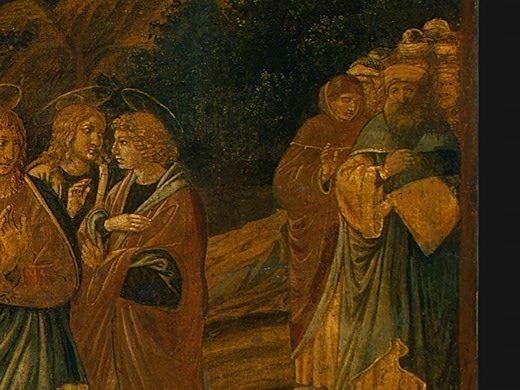 The Raising of Lazarus, probably 1497, 65.5x80.5 c. Benozzo (Benozzo di Lese) Gozzoli