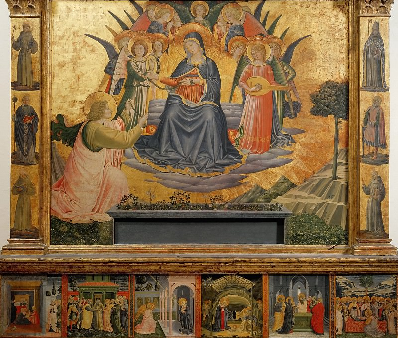 Assumption of the Virgin. Benozzo Gozzoli