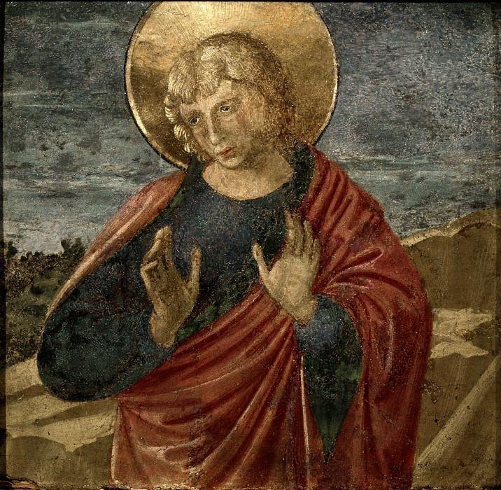 Святой Иоанн Богослов. Беноццо Гоццоли