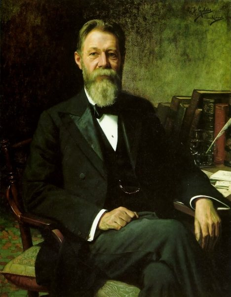 Portrait of Thomas Wilson Leys 1904 117x91.3cm. Charles Frederick Goldie
