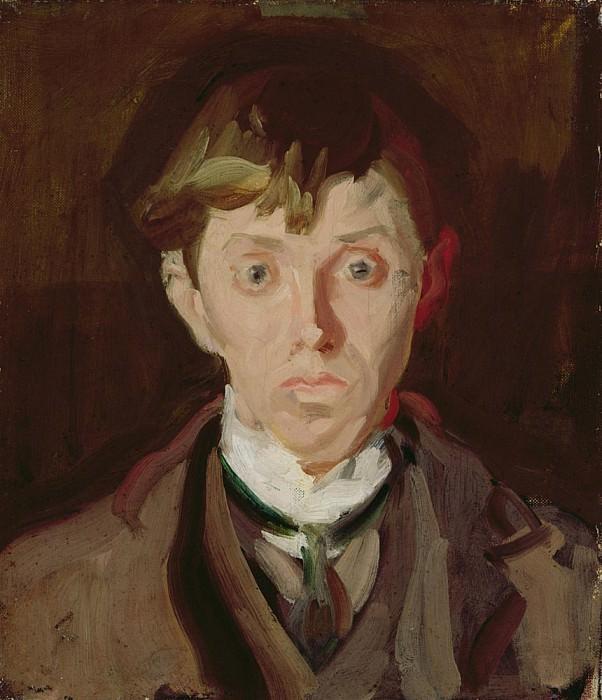 Portrait of Spencer Frederick Gore. Harold Gilman