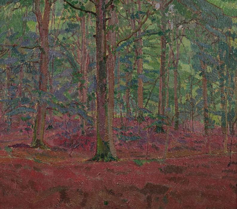A Beech Wood. Harold Gilman