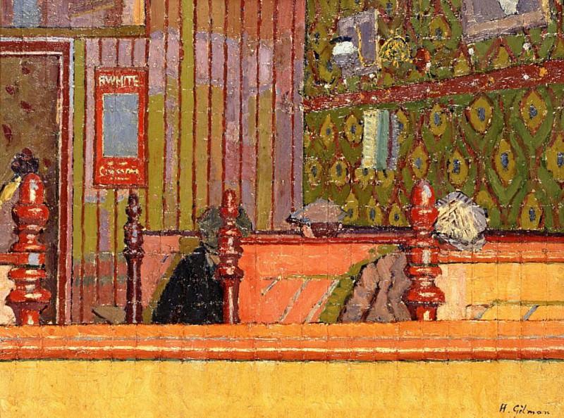 Eating House. Harold Gilman