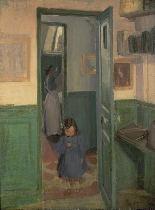 In Sickerts House. Harold Gilman