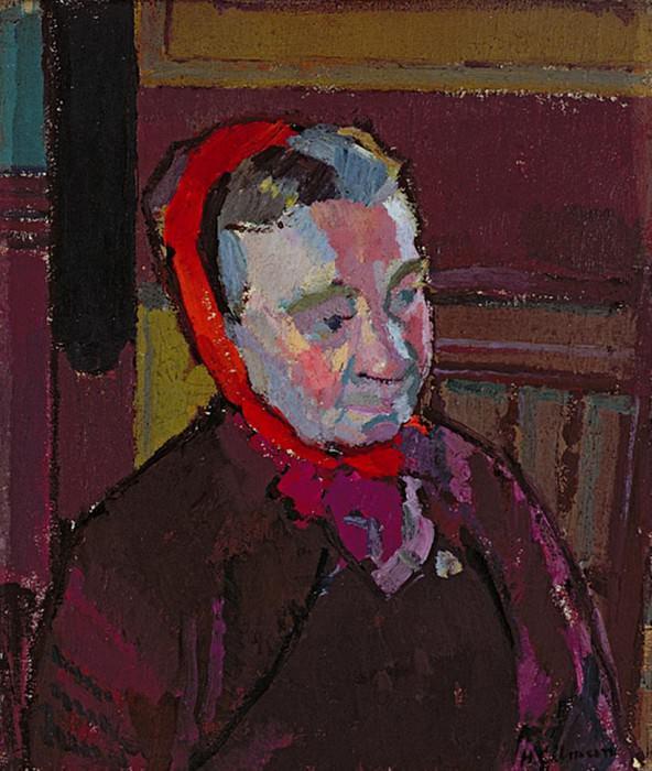 Portrait of Mrs Mounter. Harold Gilman