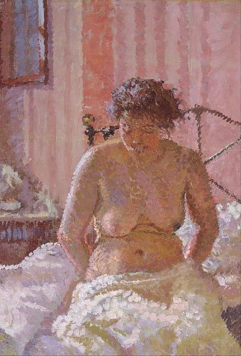 Nude in an Interior. Harold Gilman