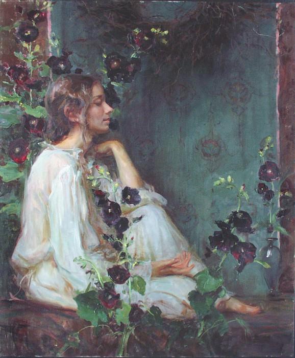 In the Stillness 48 x40. Daniel F Gerhatz