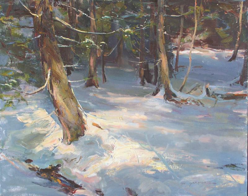 Nichols Creek 24x30. Daniel F Gerhatz